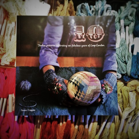 fabulous Loop's 10th anniversary book! Has lots of special knitting patterns